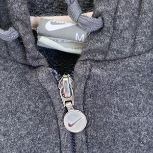 2 pc Nike Gray ZIP-up Sweatsuit